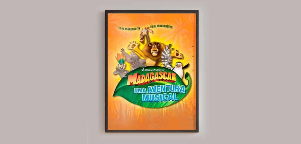 Mídia Impressa de Material Impresso Teatro Cartaz Banner feito e criado pela empresa especializada M45 Arte