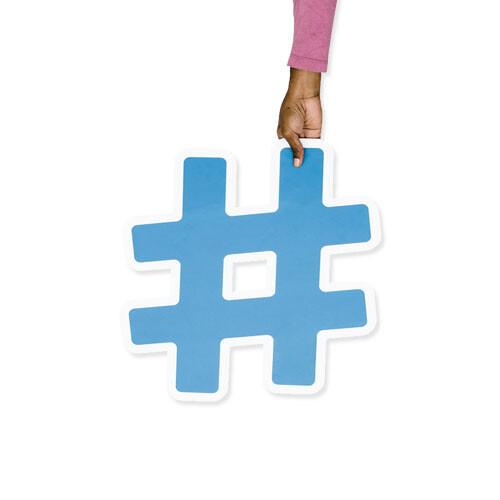 como usar a hashtag nas redes sociais jeito certo m45 arte