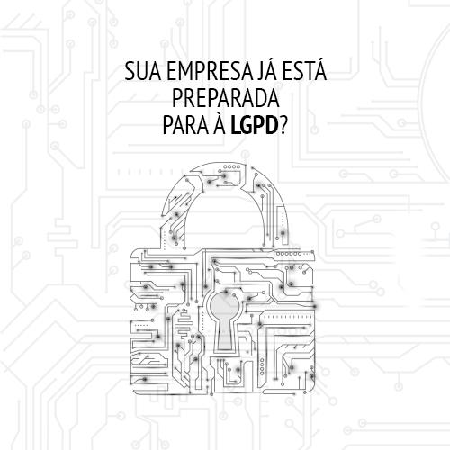 Sites adaptados para a LGPD - Lei Geral de Proteção de dados